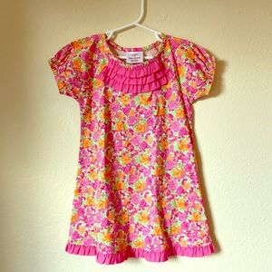 Brand New Hanna Andersson Pink Girl's Dress 4T